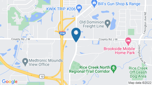 Country Inn & Suites by Radisson, Shoreview, MN Map
