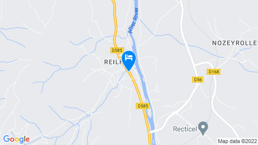 Les Rives d'Allier Map
