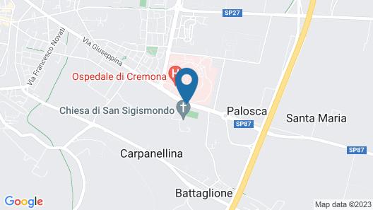 Albergo Visconti Map