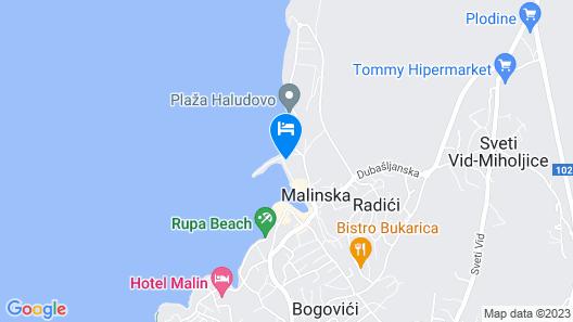 Hotel Riva Map