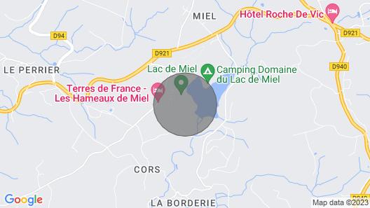 Large Cottage Furnished Map