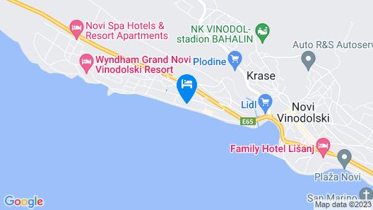 Di Blu Map