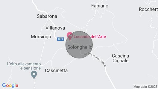 Casa Serena - Unique Retro/classic Villa in Wine Country Near Milan Terrace View Map