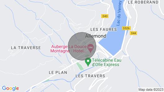 Chalet Eau D'ollé, Breath of Pure & Fresh air Map