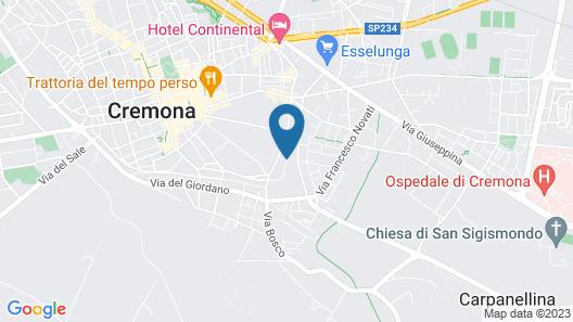 Cremona: A Cidade DE Música E Violinos, Apartamento Romântico NO Centro Map