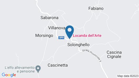 Locanda dell'Arte Map