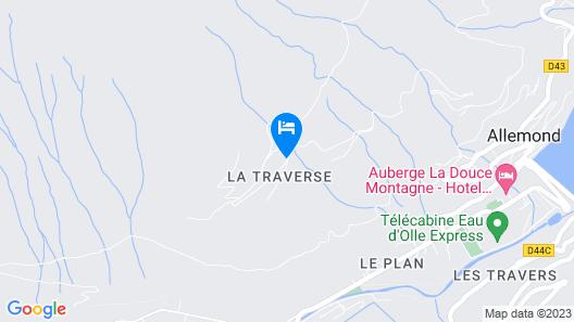 La Grange à Gaspard Map