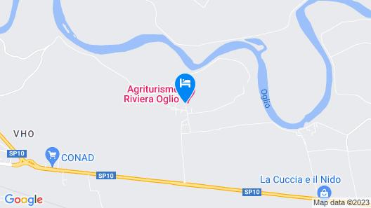 Agriturismo Riviera Oglio Map