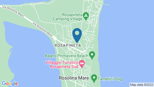 Happy Camp Rosapineta Camping Village Map