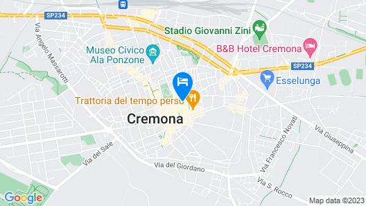 Locanda Torriani Map