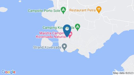 Naturist Park Koversada Villas, Vrsar Map