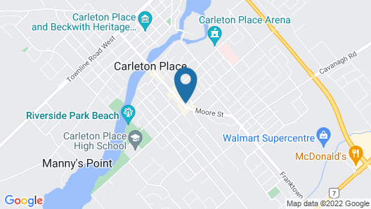 The Grand Hotel Map