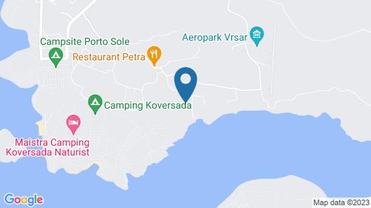 Mobile homes Porto Sole Map