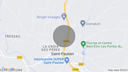 The Clos du Joli Puits Map