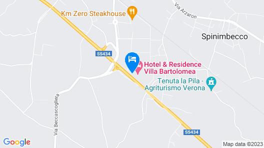 Hotel & Residence Villa Bartolomea Map