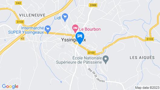 Logis Hôtel Le Cygne Map