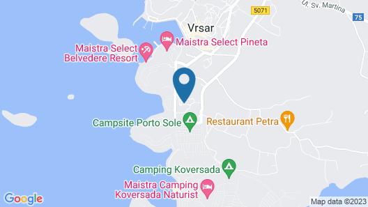 Maistra Resort Belvedere Map