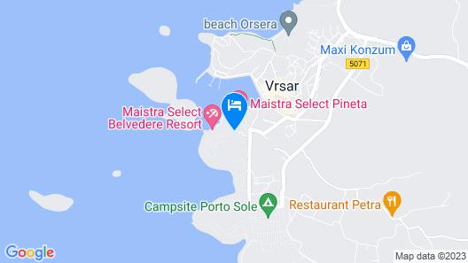 Resort Belvedere Map