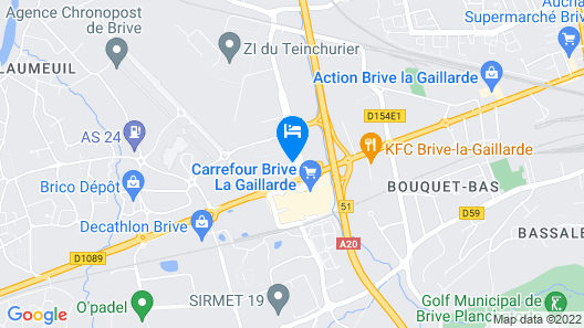 Noemys Brive Map