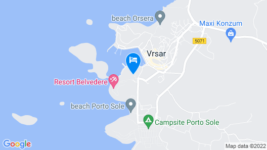 Hotel Pineta Map