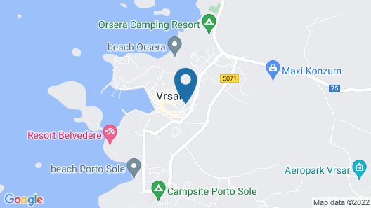 Apartments Danica 271 Map
