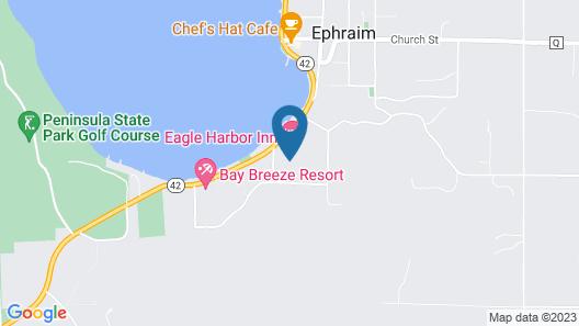 Eagle Harbor Inn Map