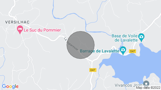 Villa Saint-jeures, 4 Bedrooms, 11 Persons Map