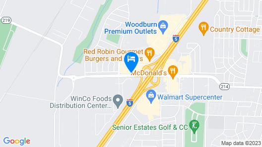 La Quinta Inn & Suites by Wyndham Woodburn Map