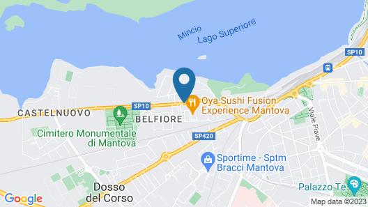 Weekend Accomodation Map