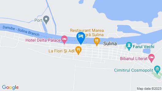 Delta Palace Map