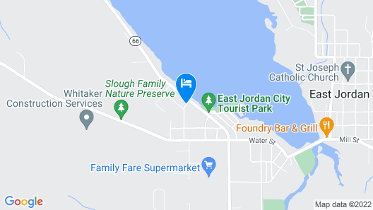 East Jordan Motel Map