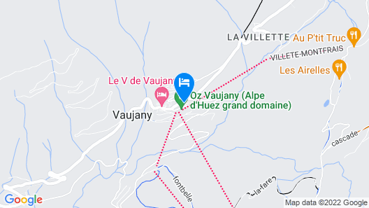 Résidence Odalys La Cascade - Les Epinettes Map