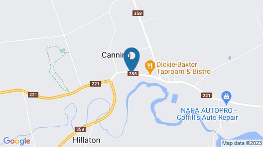 Farmhouse Inn B&B Map