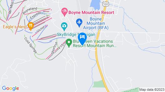 Bluegreen Vacations Mountain Run at Boyne, an Ascend Resort Map