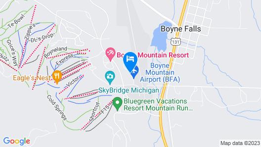 Boyne Mountain, Base of Mtn, Sleeps 11 Map