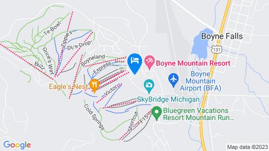 Boyne Mountain Resort Map