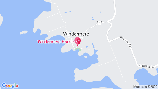Windermere House Map