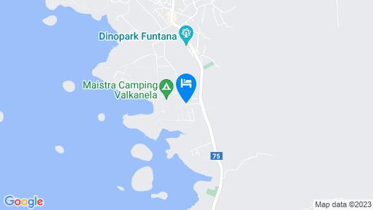 Mobile Homes Valkanela Map