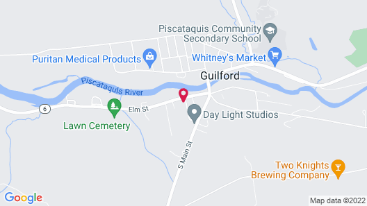 Guilford Bed and Breakfast Map