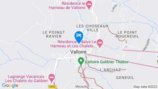 LES Alpages D'auguste Map