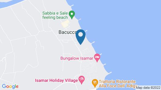 Isaresidence Holiday Resort Map