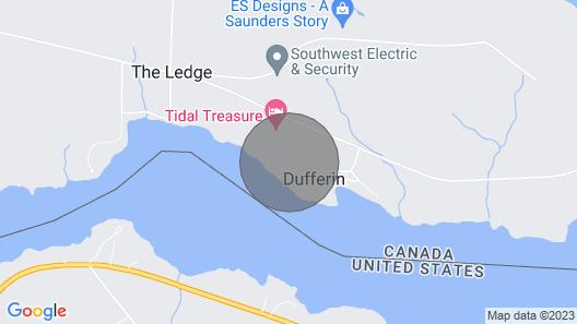 Tidal Treasure Guest Room 1 of 7 Map