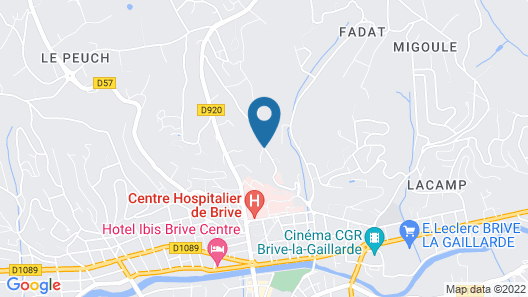 Le Pigeonnier Map