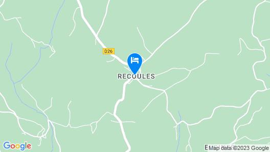 La Barajade Map
