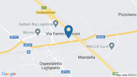 EcoHotel Map
