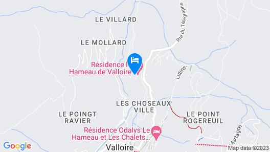 Vacancéole - Le Hameau de Valloire Map