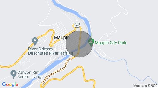 Riverfront on the Deschutes River Map