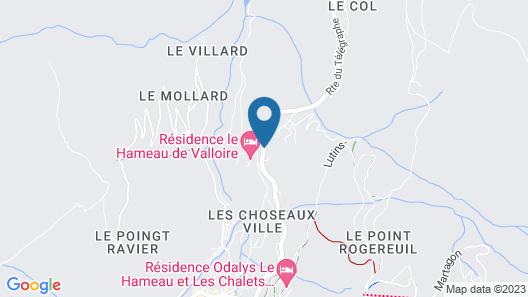 Résidence Odalys Le Hameau et les Chalets de la Vallée d'Or Map