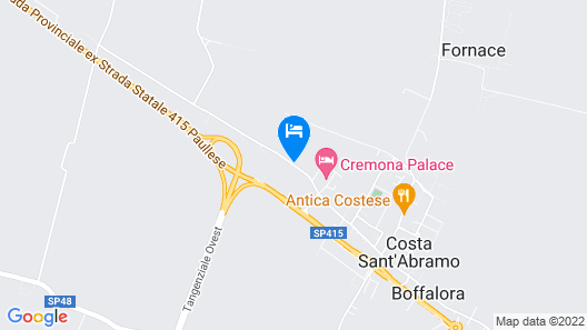 Cremona Palace Hotel Map
