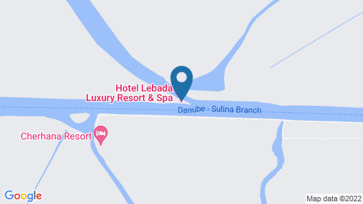 Lebada Luxury Resort&Spa Map
